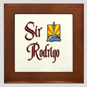 Sir Rodrigo Framed Tile
