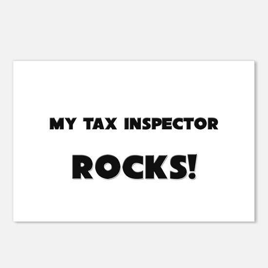 MY Tax Inspector ROCKS! Postcards (Package of 8)