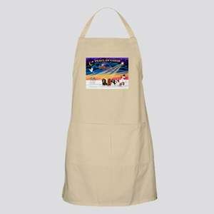 XmasSunrise/5 Cavaliers BBQ Apron