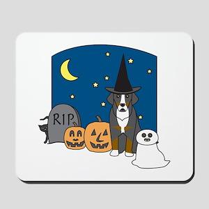 Greater Swiss Halloween Mousepad