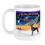 XmasSunrise/Great Dane (bl) Mug
