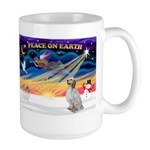 XmasSunrise/English Setter #1 Large Mug