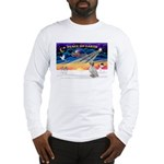 XmasSunrise/English Setter #1 Long Sleeve T-Shirt