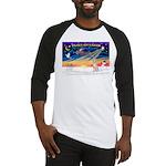 XmasSunrise/Italian Greyhound Baseball Jersey