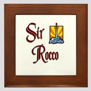 Sir Rocco Framed Tile