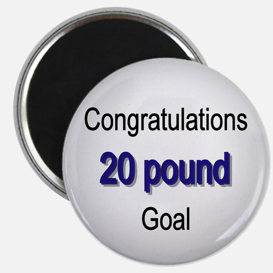 Cute Lose 20 pounds Magnet