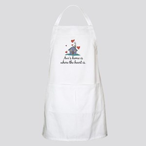 Avo's Home is Where the Heart Is BBQ Apron