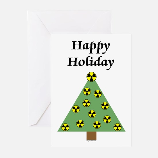 Nuclear Happy Holiday Greeting Cards (Pk of 20)