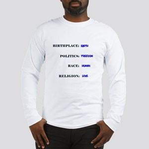 Human Race Long Sleeve T-Shirt