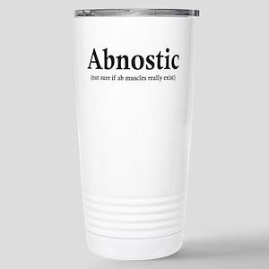 Abnostic Stainless Steel Travel Mug