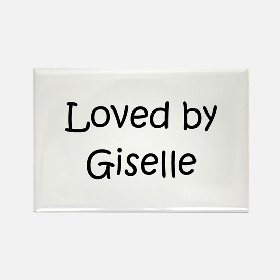 Funny Giselle Rectangle Magnet