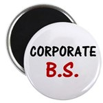 """Corporate BS 2.25"""" Magnet (100 pack)"""