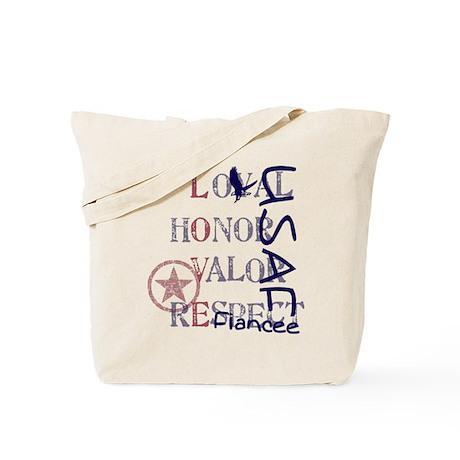 USAF Fiancee - Vertical Tote Bag