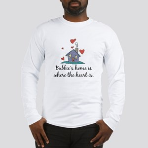 Bubbie's Home is Where the Heart Is Long Sleeve T-