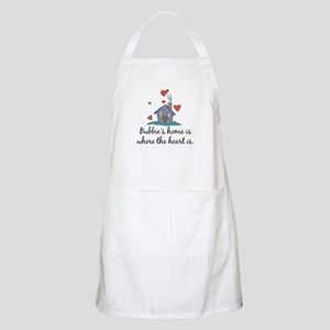 Bubbie's Home is Where the Heart Is BBQ Apron