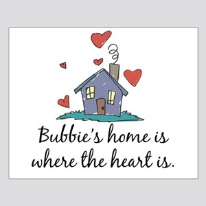 Bubbie's Home is Where the Heart Is Small Poster