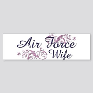 USAF Wife Bumper Sticker