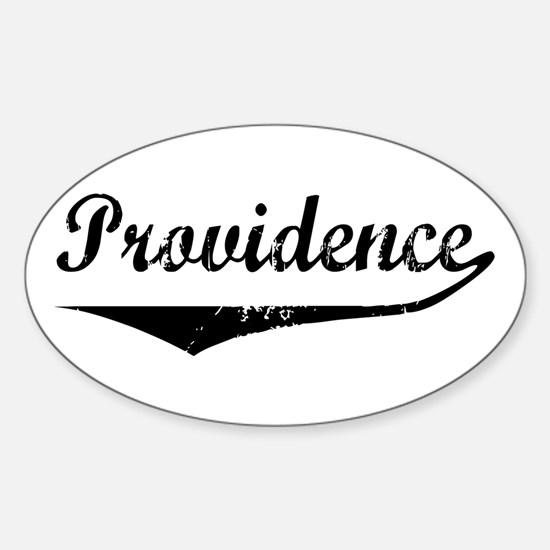 Providence Oval Decal