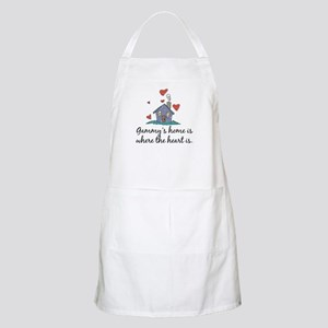 Gammy's Home is Where the Heart Is BBQ Apron