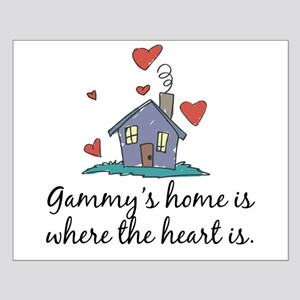 Gammy's Home is Where the Heart Is Small Poster