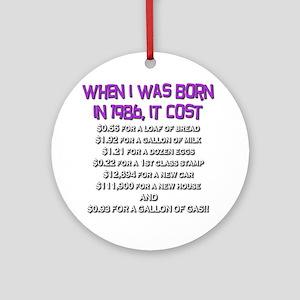 Price Check 1986 Ornament (Round)