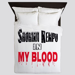 Shorinji Kempo in my blood Queen Duvet