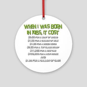 Price Check 1985 Ornament (Round)