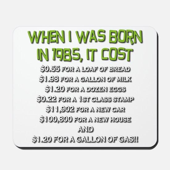 Price Check 1985 Mousepad