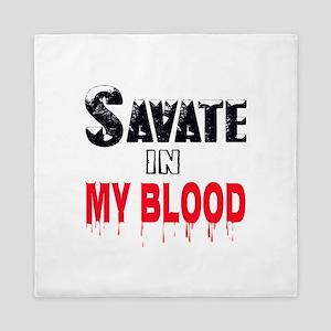 Savate in my blood Queen Duvet