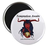 "Temptation Awaits 2.25"" Magnet (10 pack)"