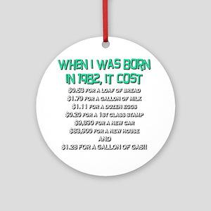 Price Check 1982 Ornament (Round)