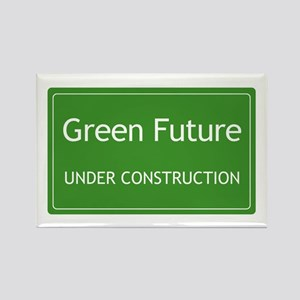 Green Future Rectangle Magnet
