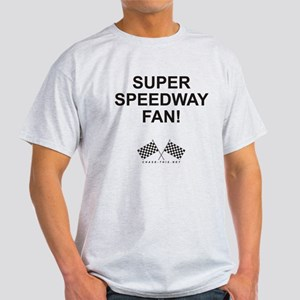 Checker Flag Speedway Light T-Shirt