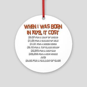 Price Check 1978 Ornament (Round)