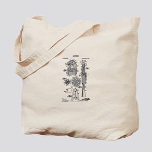 Goddard Rocket Tote Bag