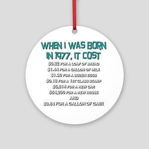 Price Check 1977 Ornament (Round)