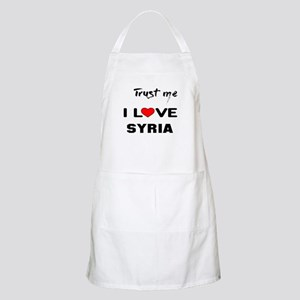 Trust me I Love Syria Light Apron