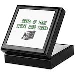 James Stolen Video Camera Keepsake Box