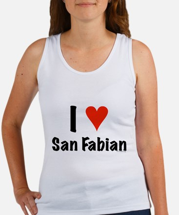 I love San Fabian Women's Tank Top