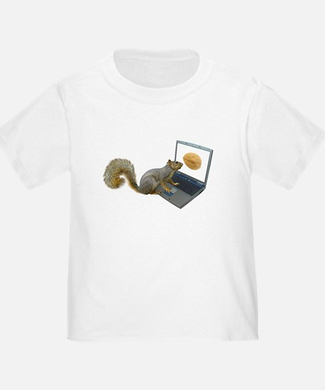 Squirrel at Computer T