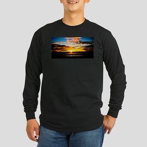 California Sunset Long Sleeve Dark T-Shirt