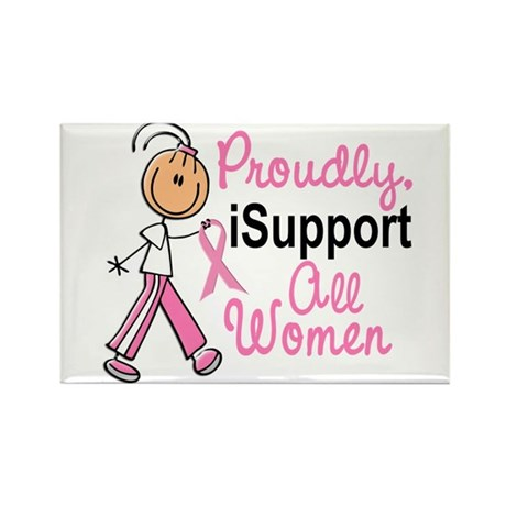 I Support All Women 1 (SFT BC) Rectangle Magnet