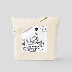 InMyDog'sBowl Tote Bag