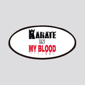 Karate in my blood Patch