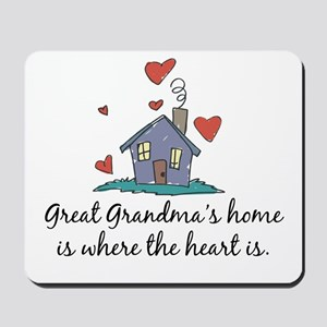 Great Grandma's Home is Where the Heart Is Mousepa