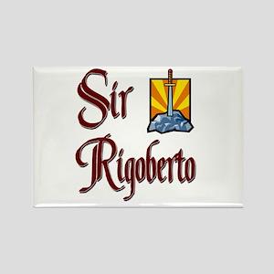 Sir Rigoberto Rectangle Magnet