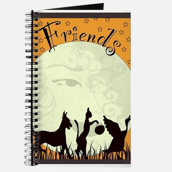 Cute Halloween dogs Journal