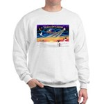 XmasSunrise/Toy Fox Ter Sweatshirt