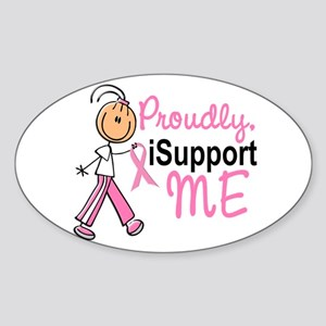I Support ME 1 (SFT BC) Oval Sticker