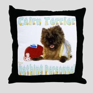Cairn Terrier Throw Pillow